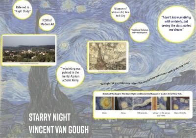 Starry Night<sup>JL</sup><span>1889</span>